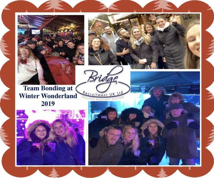 Bridge Recruitment's Winter Wonderlands Day Out 2019.